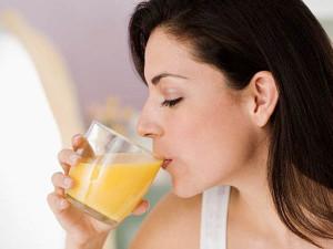 сок и вода к коньяку